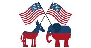 Slogans Sprüche US Präsidentenwahl
