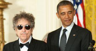 Umstrittene fragwürdige Nobelpreisträger Barack Obama Bob Dylan